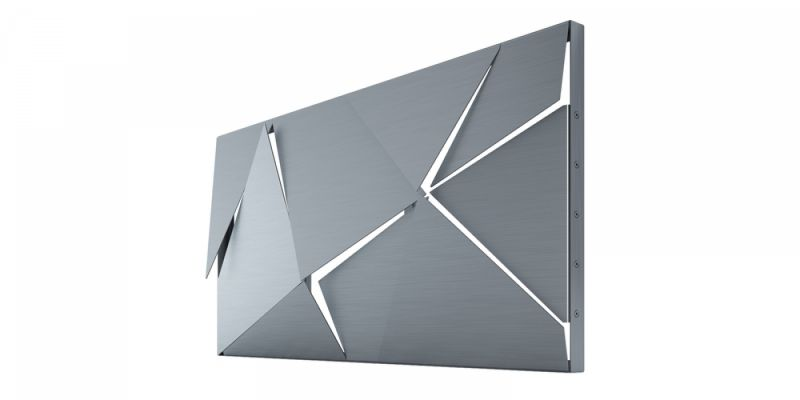 PANEL 3D silver